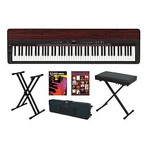 Yamaha P 155 Rosewood Keyboard Package 4