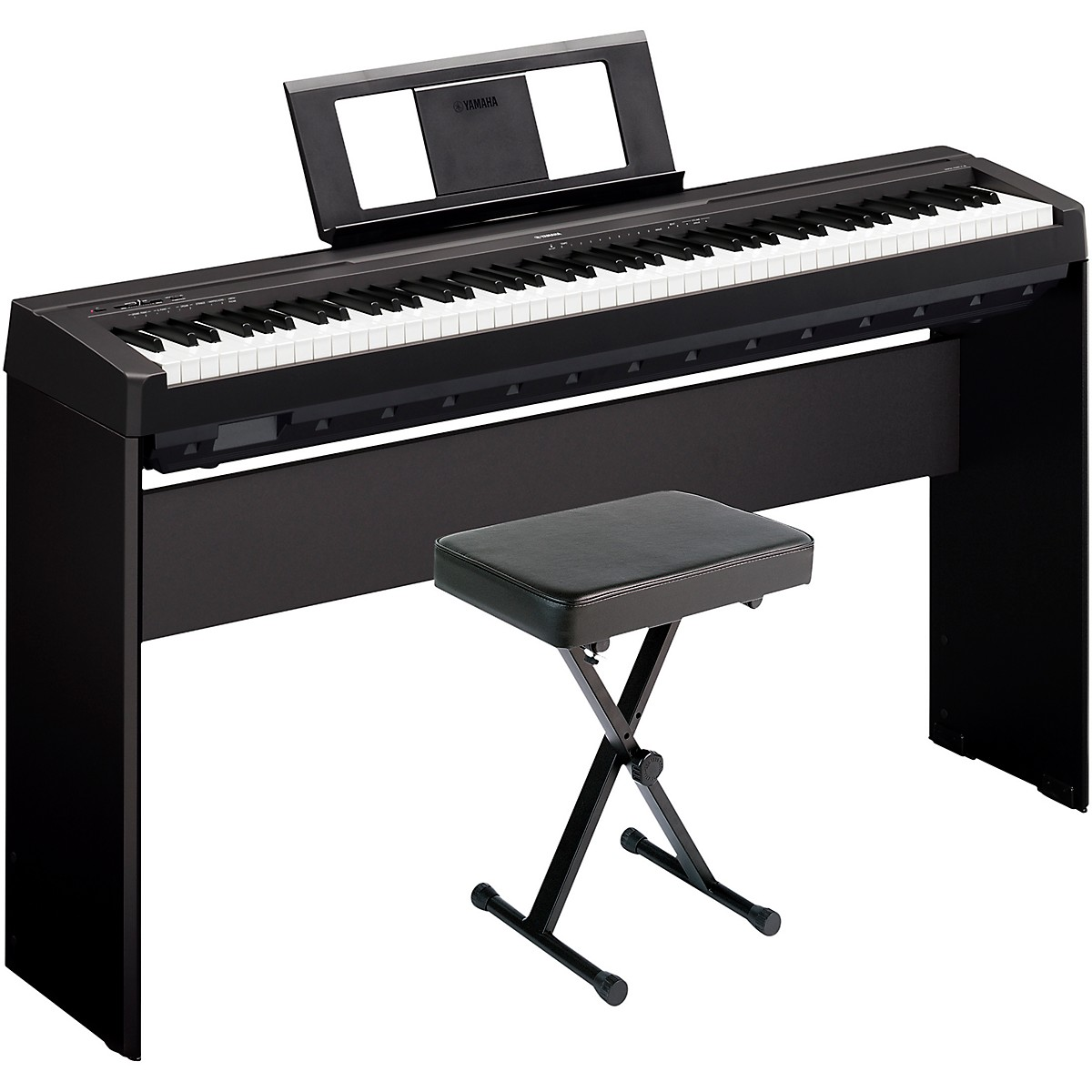 Yamaha P-45LXB Digital Piano with Stand and Bench