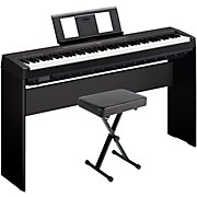 P-45LXB Digital Piano with Stand and Bench Black