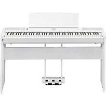 P-515 Digital Piano with Matching Stand and LP-1 Pedal Unit White