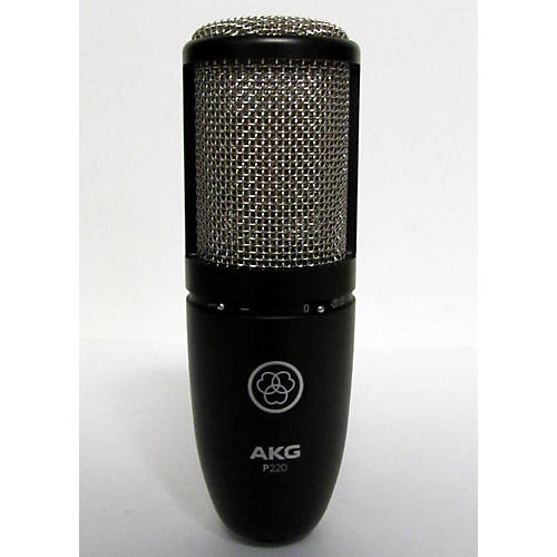 used akg p220 project studio condenser microphone guitar center. Black Bedroom Furniture Sets. Home Design Ideas
