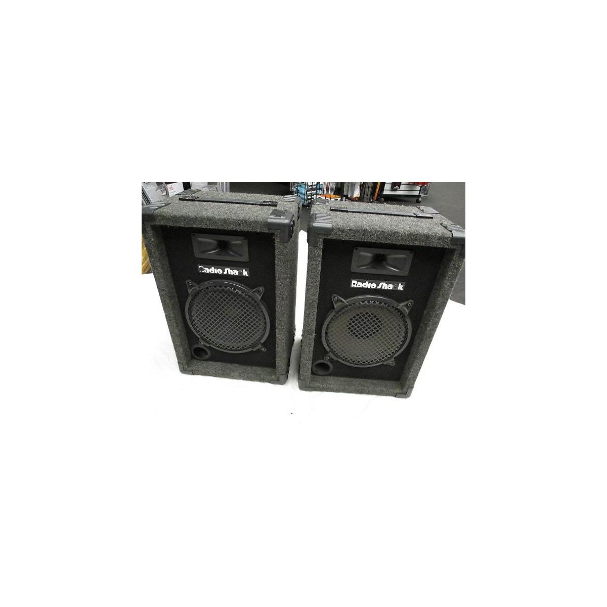 Radio Shack PA 110 Pair Unpowered Speaker