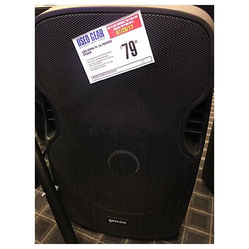 used gemini pa 15l powered speaker guitar center. Black Bedroom Furniture Sets. Home Design Ideas