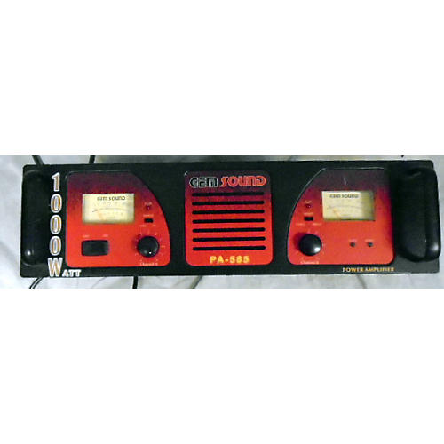 Gem Sound PA585 Power Amp
