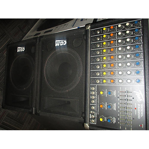 Tosh PA8200 Bundle With 2 CGM Monitors Sound Package