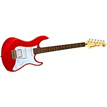 PAC012 Electric Guitar Metallic Red