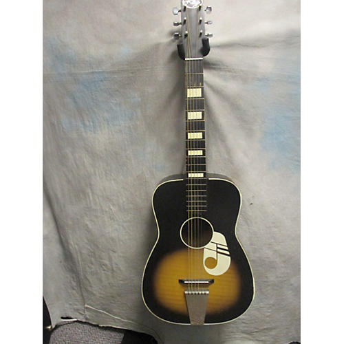 Used Kay Parlor Music Note Acoustic Guitar Guitar Center