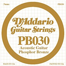 D'Addario PB030 Phosphor Bronze Acoustic Guitar Strings
