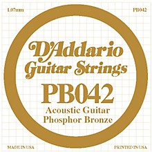 D'Addario PB042 Phosphor Bronze Guitar Strings