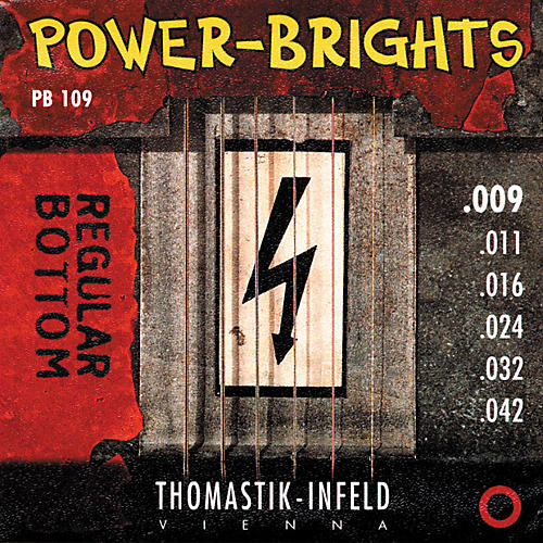 Thomastik PB109 Power-Brights Bottom Light Guitar Strings