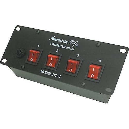 American DJ PC-4 4 Channel Switch Center