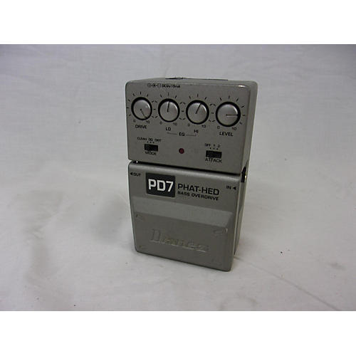 used ibanez pd7 phat head bass effect pedal guitar center. Black Bedroom Furniture Sets. Home Design Ideas