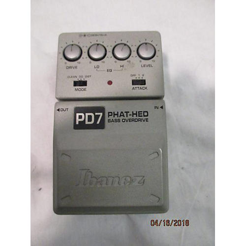 Ibanez PD7 Phat Hed Bass Effect Pedal