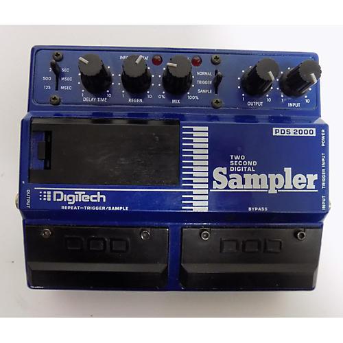 Digitech PDS 2000 TWO SECOND SAMPLER Effect Pedal