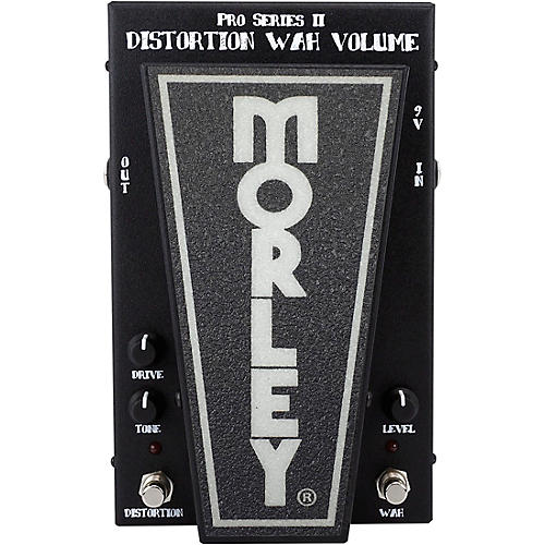 Morley PDW-II Pro Series Distortion/Wah/Volume Pedal