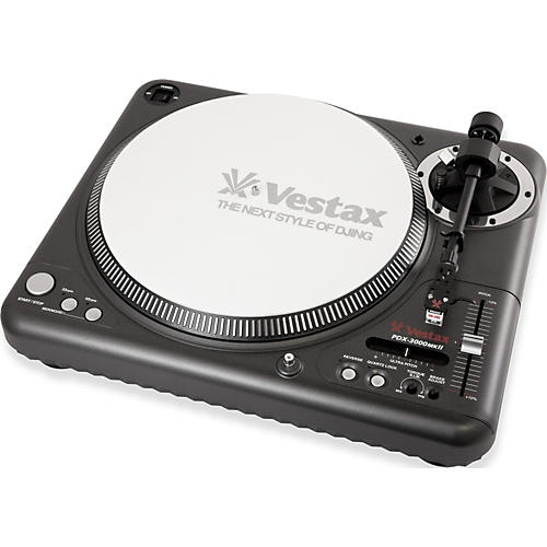 Vestax PDX-3000mkII Professional Direct Drive turntable with MIDI