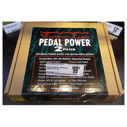 Voodoo Lab PEDAL POWER II PLUS Power Supply