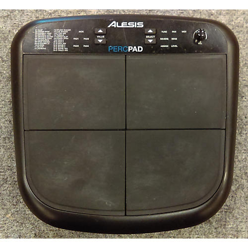 used alesis percpad midi percussion pad drum midi controller guitar center. Black Bedroom Furniture Sets. Home Design Ideas