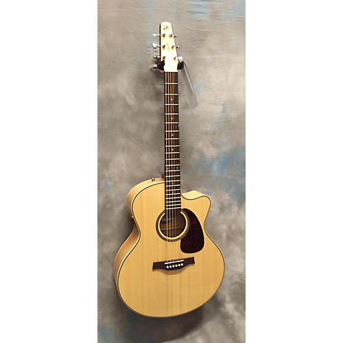 Seagull PERFORMER CW MJ FLAME MAPLE Acoustic Electric Guitar