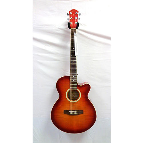 used palmer pf24ec pk1 wb cs acoustic electric guitar guitar center. Black Bedroom Furniture Sets. Home Design Ideas