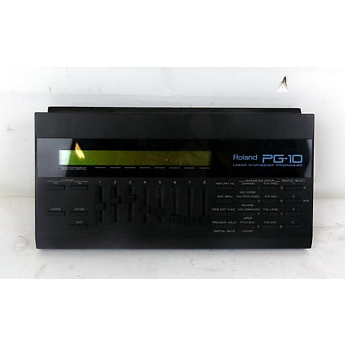 used roland pg 10 linear synth programmer synthesizer guitar center. Black Bedroom Furniture Sets. Home Design Ideas