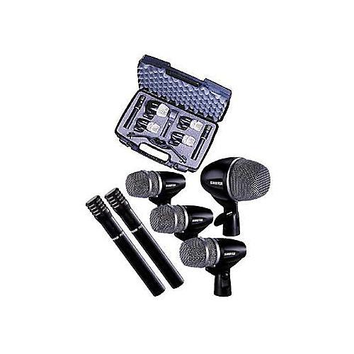 shure pg 6 piece drum microphone package guitar center. Black Bedroom Furniture Sets. Home Design Ideas