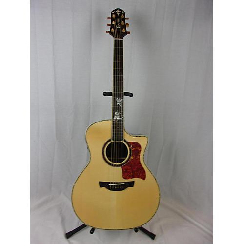 used crafter guitars pg rose plus acoustic electric guitar natural guitar center. Black Bedroom Furniture Sets. Home Design Ideas
