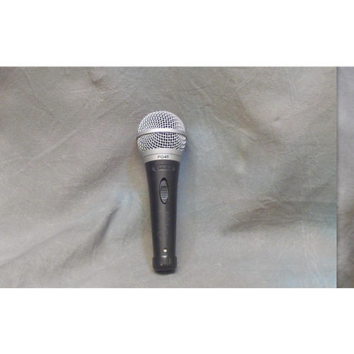 Shure PG48XLR Blk/slvr Dynamic Microphone