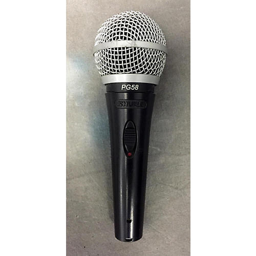 Shure PG58LC Black Dynamic Microphone