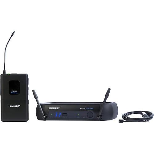 Shure PGXD14/93 Digital Wireless System with WL93 Lavalier Mic