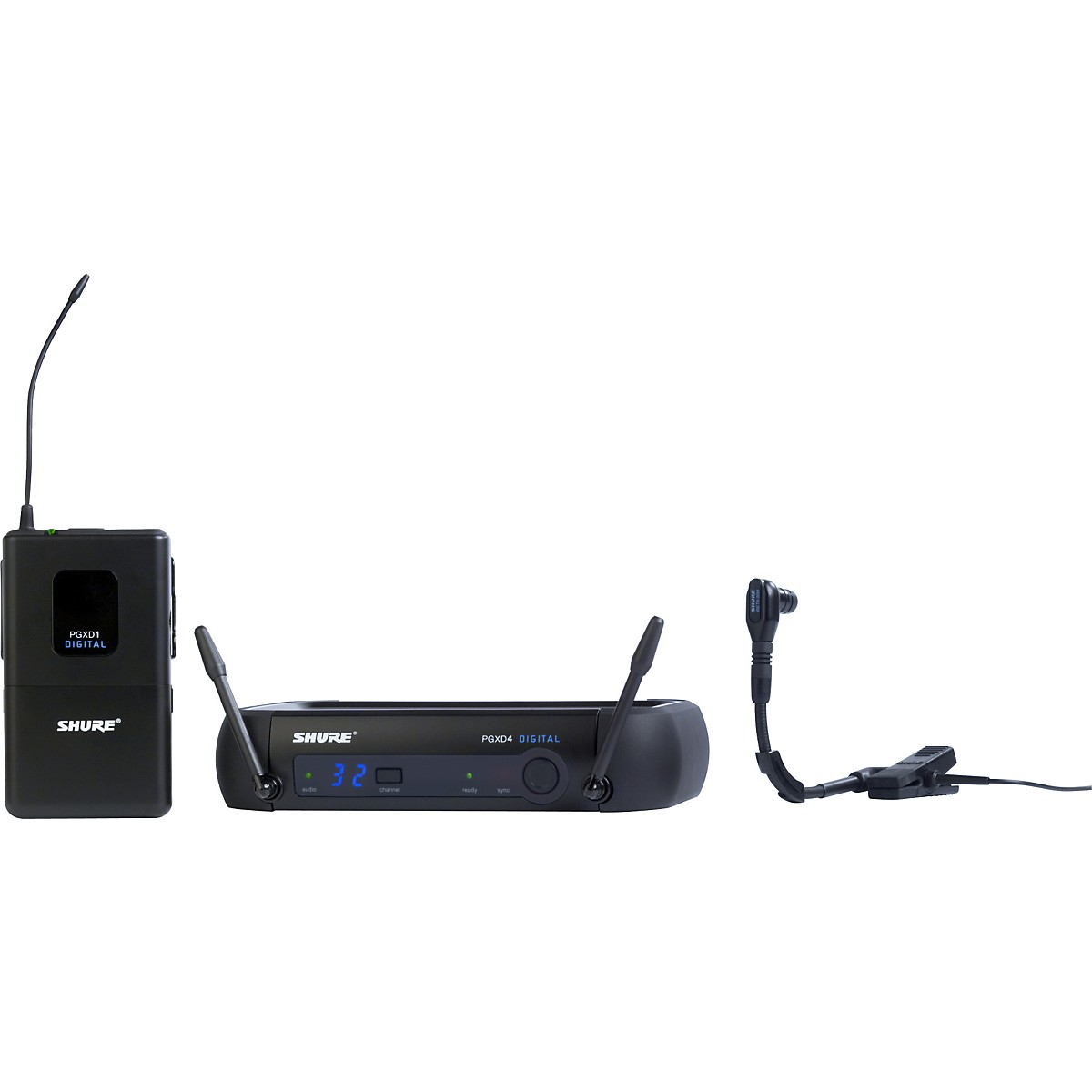 Shure PGXD14/BETA98H Digital Wireless System with Beta 98H/C Mic