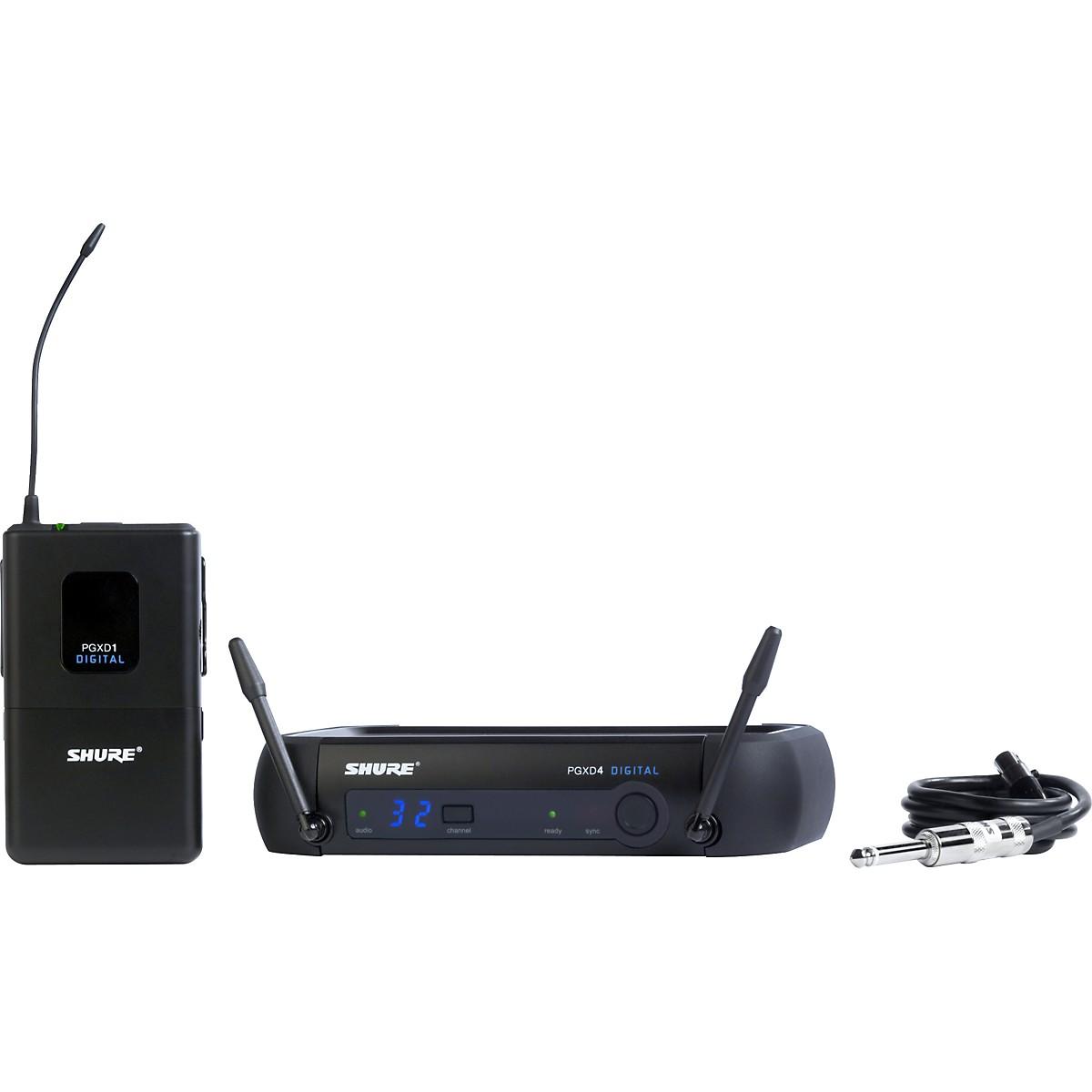 Shure PGXD14 Digital Wireless System for Guitar/Bass