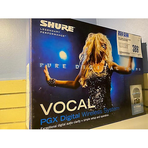 Shure PGXD2/BETA58X8 Dynamic Microphone