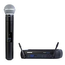 Shure PGXD24/SM58 Digital Wireless System with SM58 Mic Level 1