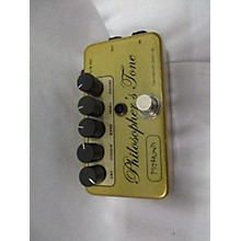 Pigtronix PHILOSOPHER'S TONE GERMANIUM GOLD LTD ED Effect Pedal