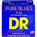 DR Strings PHR9/46 Pure Blues Nickel Lite'n'Heavy Electric Guitar Strings thumbnail