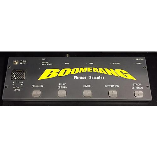 Boomerang PHRASE SAMPLER Pedal