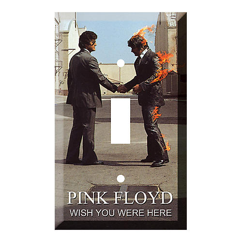 Gear One PINK FLOYD WISH YOU WERE HERE LIGHT SWITCH PLATE