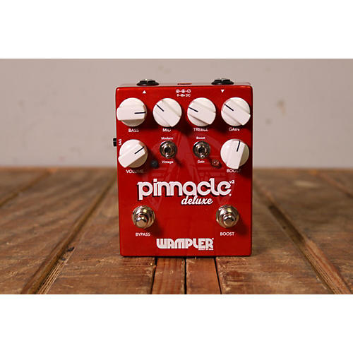 Wampler PINNACLE DELUXE V2 Effect Pedal