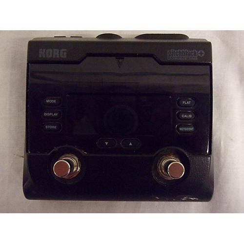 Korg PITCHBLACK PLUS CHROMATIC TUNER Tuner Pedal