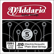 D'Addario PL010-5 Strings