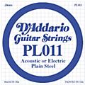 D'Addario PL011 Plain Steel Guitar Strings thumbnail