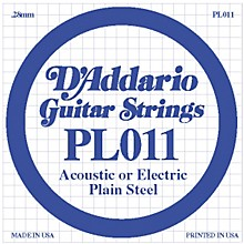 D'Addario PL011 Plain Steel Guitar Strings