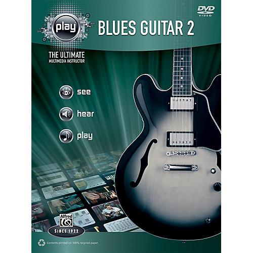 Alfred PLAY Series  Blues Guitar 2 Book & DVD