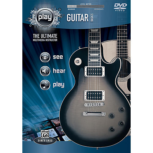 Alfred PLAY Series  Guitar Basics DVD