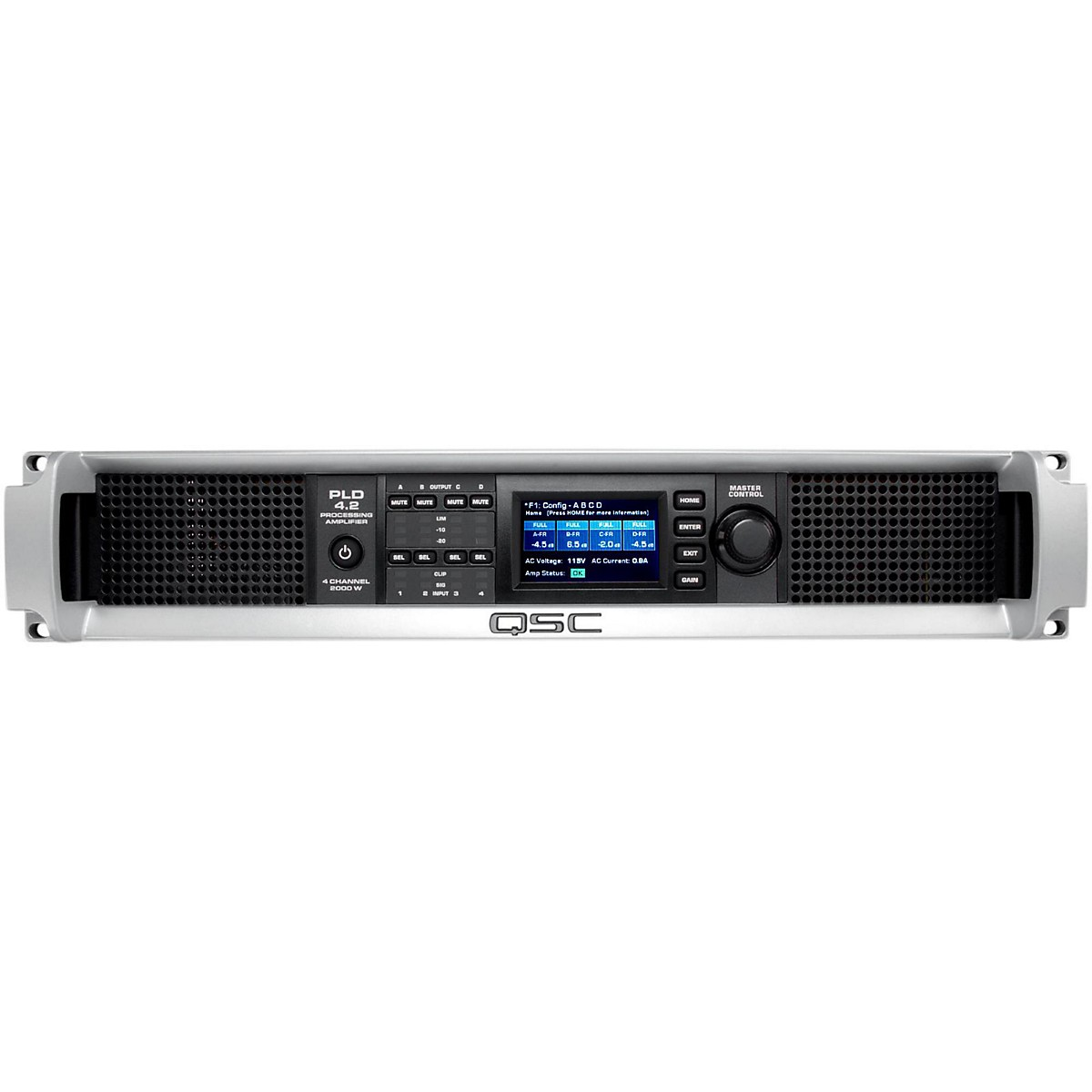 QSC PLD4.2 Multi-Channel System Processing Amplifier