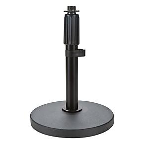 proline pldrb1b round base desktop mic stand guitar center. Black Bedroom Furniture Sets. Home Design Ideas