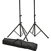 PLSP1 Speaker Stand Set with Bag Black