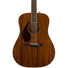 PM-1 Dreadnought All-Mahogany Left-Handed Acoustic Guitar Level 2 Natural 194744124877