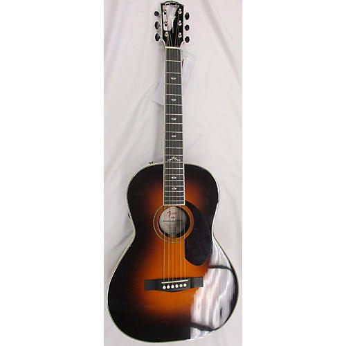 Fender PM-2 DELUXE SB Acoustic Electric Guitar
